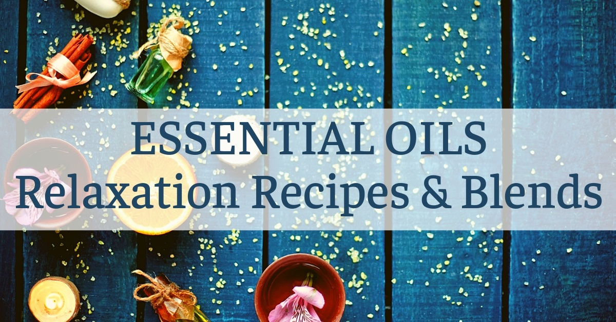 relax diffuser recipes and blends